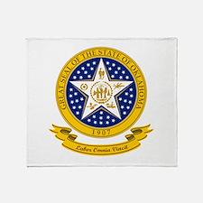 Oklahoma Seal Throw Blanket