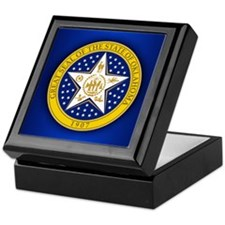Oklahoma Seal Keepsake Box
