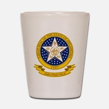 Oklahoma Seal Shot Glass