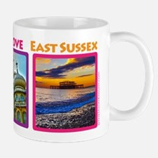Brighton Hove 3way Mugs