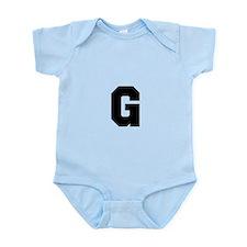 Letter G Body Suit