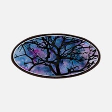 Watercolor Tree Patches