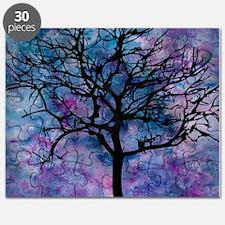 Watercolor Tree Puzzle