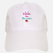 Personalize Future Mrs,___ Baseball Baseball Cap