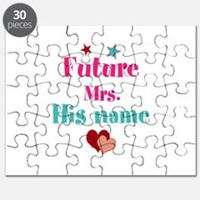 Personalize Future Mrs,___ Puzzle