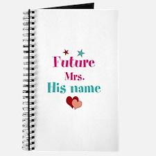 Personalize Future Mrs,___ Journal