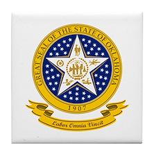 Oklahoma Seal Tile Coaster