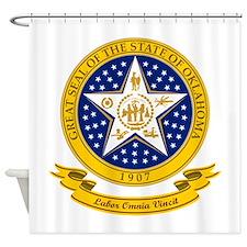 Oklahoma Seal Shower Curtain