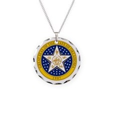 Oklahoma Seal Necklace