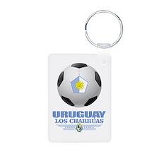 Uruguay Football Keychains