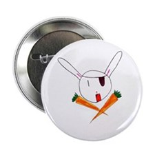 "2.25"" Pirate Bunny Button (10 pack)"