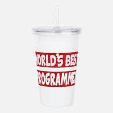 World's Best Programme Acrylic Double-wall Tumbler