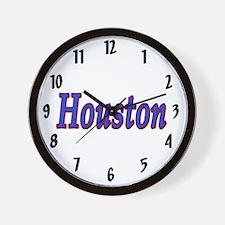 Houston Sports Wall Clock