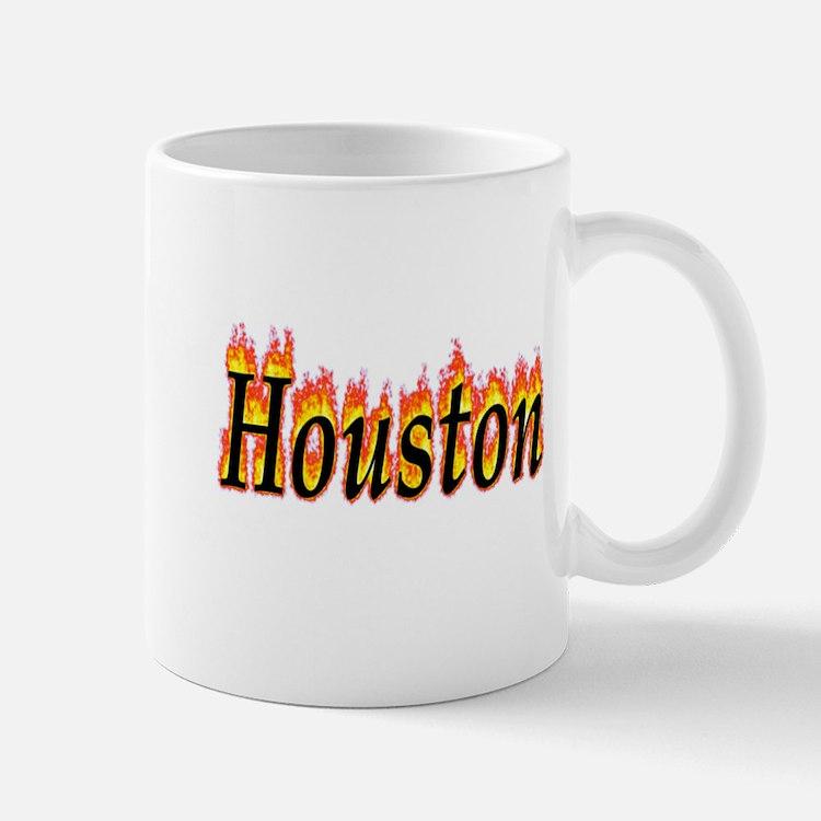 Houston Flame Mugs