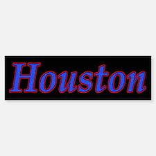 Houston Sports Bumper Bumper Bumper Sticker