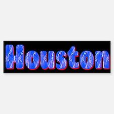 Houston Lightning Bumper Bumper Bumper Sticker