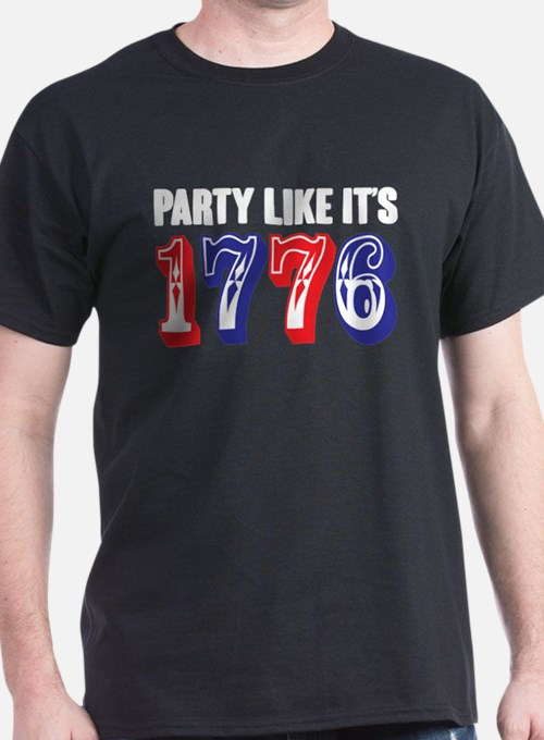 Party Like Its 1776 T-Shirt