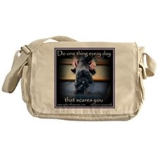 face your fears Messenger Bag