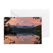 Mount Hood Lost Lake Greeting Card