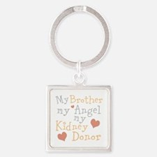 Personalize Kidney Donor Square Keychain