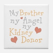 Personalize Kidney Donor Tile Coaster