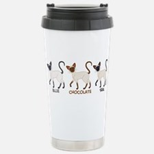 Funny Cat lover holiday Travel Mug