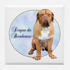 Dogue Portrait Tile Coaster