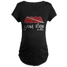 Scuba Diver Waves T-Shirt