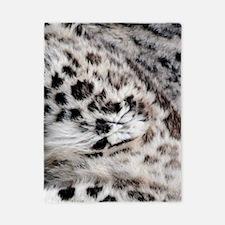 Snow Leopard Twin Duvet
