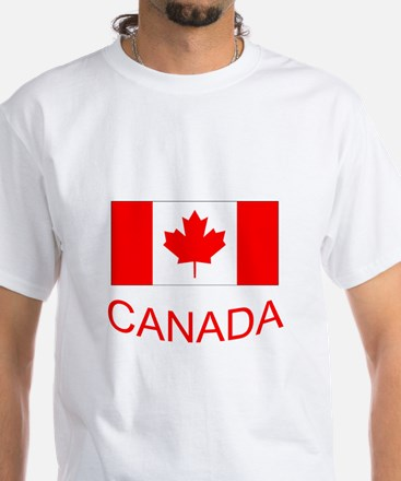 Canada flag and country name. Canada Day. T-Shirt