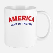 America Land of the Free Mugs