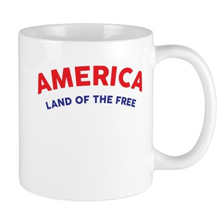America land of the free mugs by 2e1k for How to get free land in usa