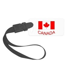 Canada flag and country name. Canada Day. Luggage Tag
