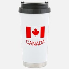 Canada flag and country name. Canada Day. Travel M