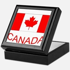 Canada flag and country name. Canada Day. Keepsake