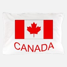 Canada flag and country name. Canada Day. Pillow C