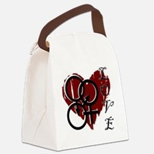 Cool Polyamory Canvas Lunch Bag