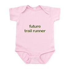 Future Trailrun Yellow Infant Bodysuit