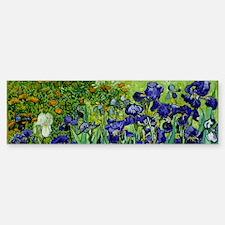 van gogh irises, st. remy Bumper Bumper Bumper Sticker
