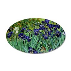 van gogh irises, st. remy Wall Decal