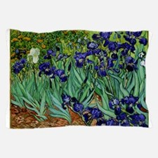 van gogh irises, st. remy Pillow Case