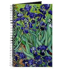 van gogh irises, st. remy Journal