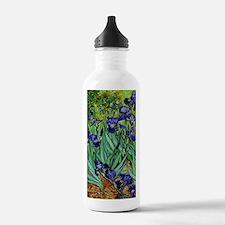 van gogh irises, st. remy Water Bottle