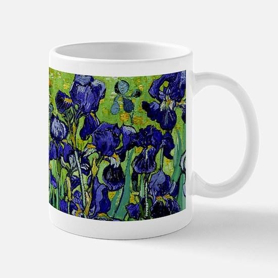 van gogh irises, st. remy Mugs