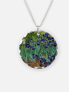 van gogh irises, st. remy Necklace