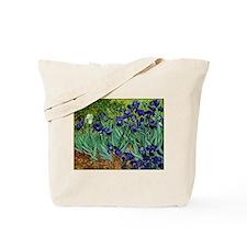van gogh irises, st. remy Tote Bag