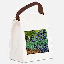 van gogh irises, st. remy Canvas Lunch Bag