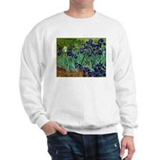 van gogh irises, st. remy Sweatshirt