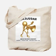 CLOJudah Gold ShoutOuts Tote Bag
