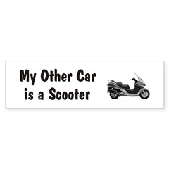 Just Gotta Scoot Silverwing Bumper Bumper Sticker